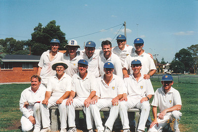 1995/1996 Third  XI Premiership  Synthetic A