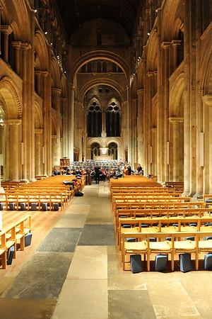 Wyvern Community Choir at Romsey Abbey  - 15/16th Dec 2014