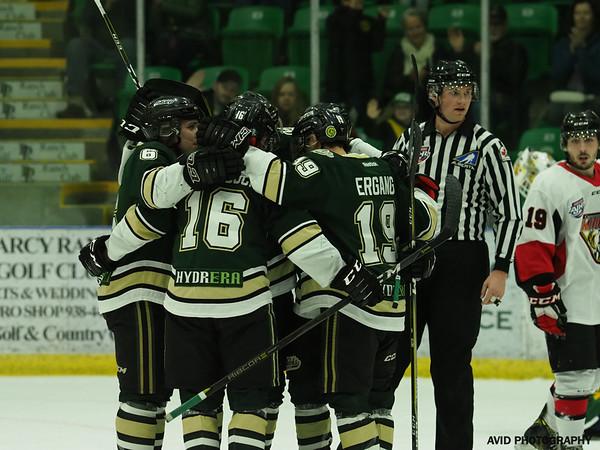 Oilers Vs Camrose Kodiaks
