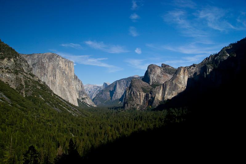 Yosemite Valley Overlook, Yosemite National Park