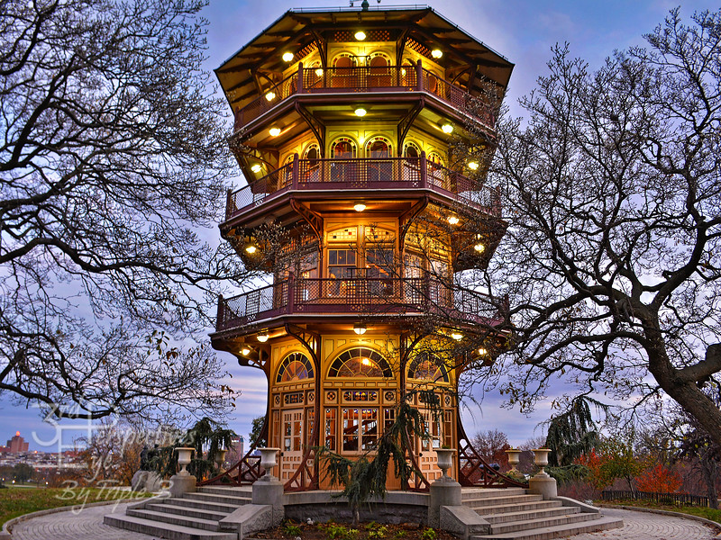 City Park Pagoda - Baltimore, Maryland - USA
