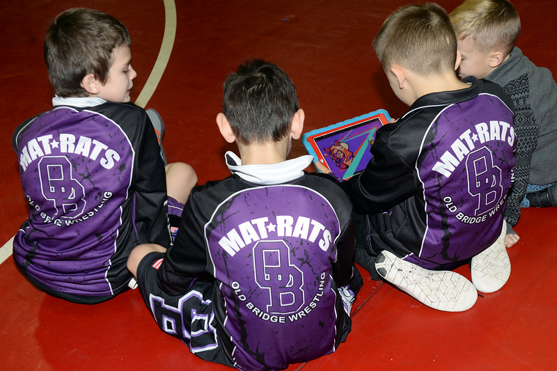 Young wrestling hopefulls from all over New Jersey came to Wall Township High School to attend a Wrestling Fundraiser for Jason's Dreams For Kids on 01/13/2019.(STEVE WEXLER/THE COAST STAR).