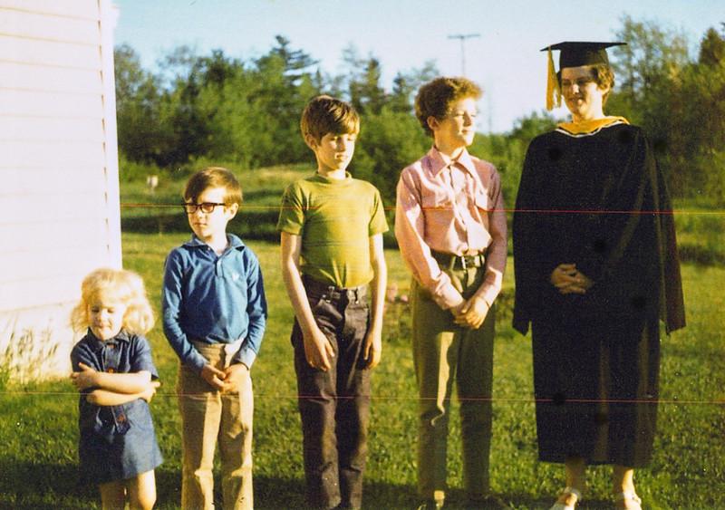 Nancy - Husson Graduation