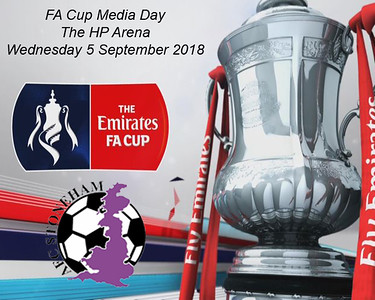 AFC Stoneham FA Cup Media Day 6/9/2018