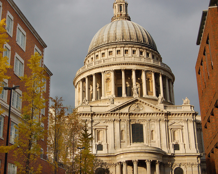 St. Paul's Cathedral on an Autum Day