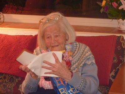 Lillian's 99th Birthday