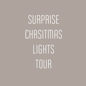 Surprise Christmas Lights Tour