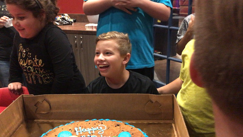 Jonathan's 11th Birthday