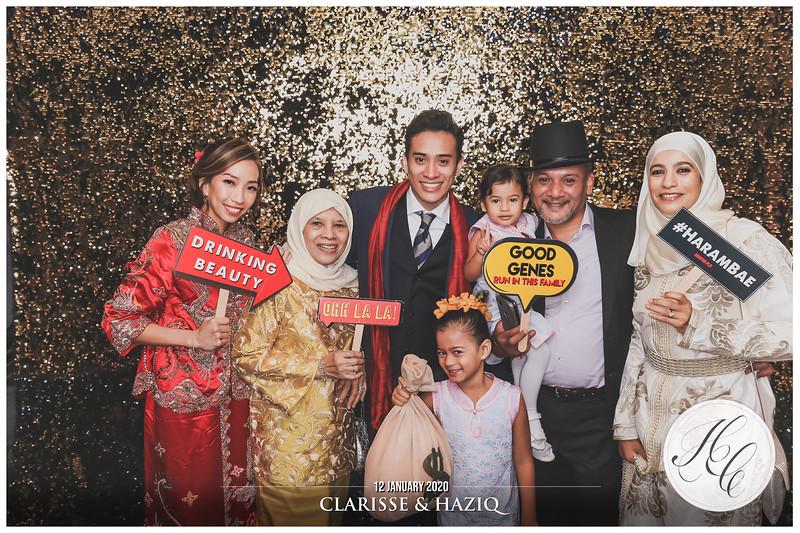 Wedding of Clarisse & Haziq | © www.SRSLYPhotobooth.sg