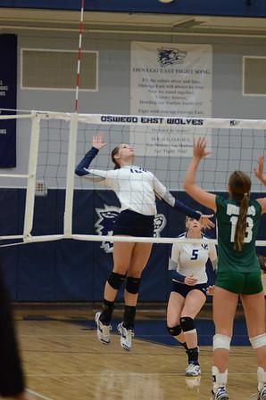 Oswego East Girls Varsity Volleyball Vs. Waubonsie 2013