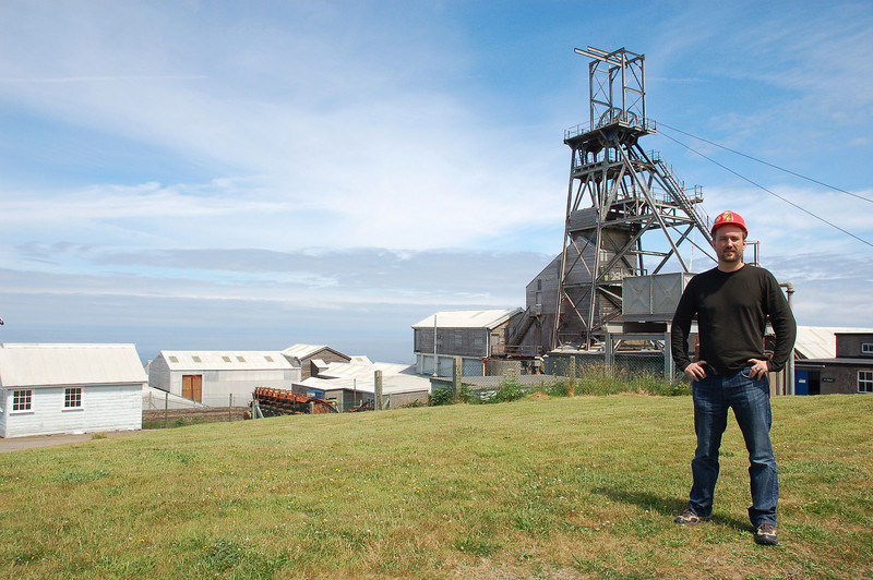 We stopped at Greevor tin mine for a tour and a bit of Cornwall's history.