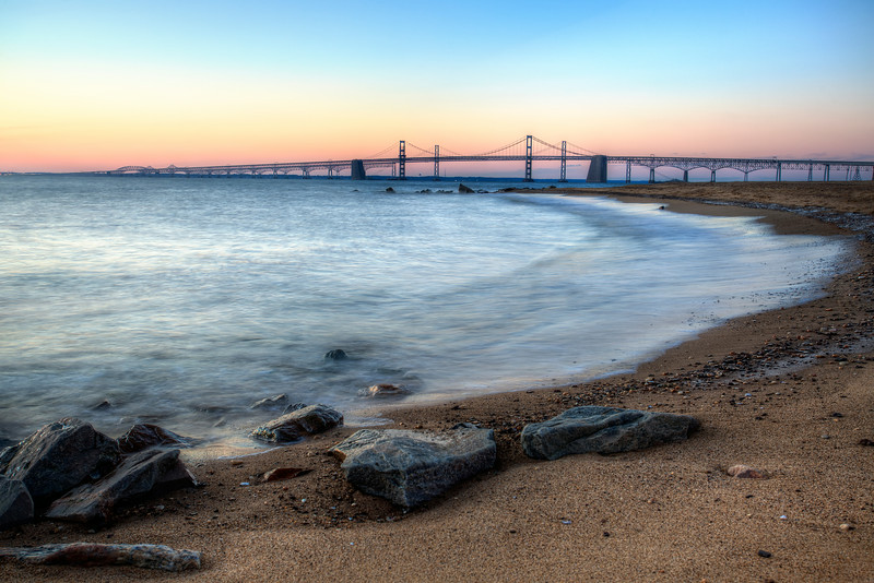 Bay Bridge from Sandy Point State Park