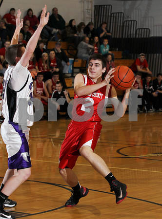 2013 Cameron County Boys JV Basketball @ Coudersport