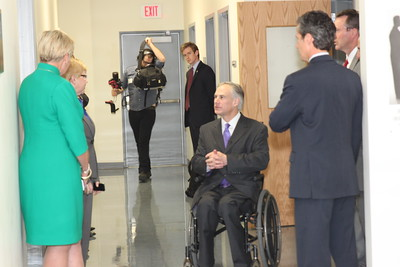 AG Greg Abbott visit to BISD