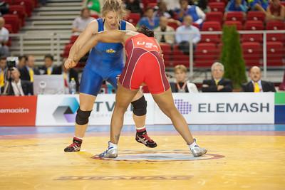72 kg/158.75 lbs. – Iris Smith (Colorado Springs, Colo./U.S. Army), CHAMPION def. Stanka Zlateva (Bulgaria), 3-1, 1-0 def. Agnieszka Wieszczek (Poland), 2-0, 6-0 def. Anita Schaetzle (Germany), 3-1, 2-0 Championship Finals - def. Kyoko Hamaguchi (Japan)