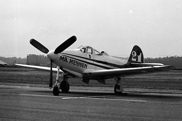 Bell RP-39Q Airacobra [1944] N40A (s/n 44-3908)