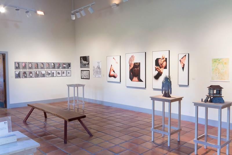 BFA & BA Senior Portfolio Exhibition Fall 2014, Installation View