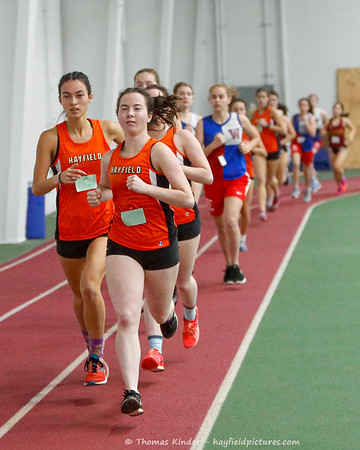 Girls Indoor Track 12/7/19