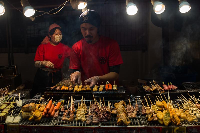 Food stall, Henderson Night Market, 2014