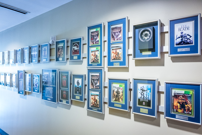 Walls of Epic Games