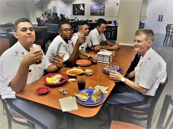 Cadets visit Longwood University