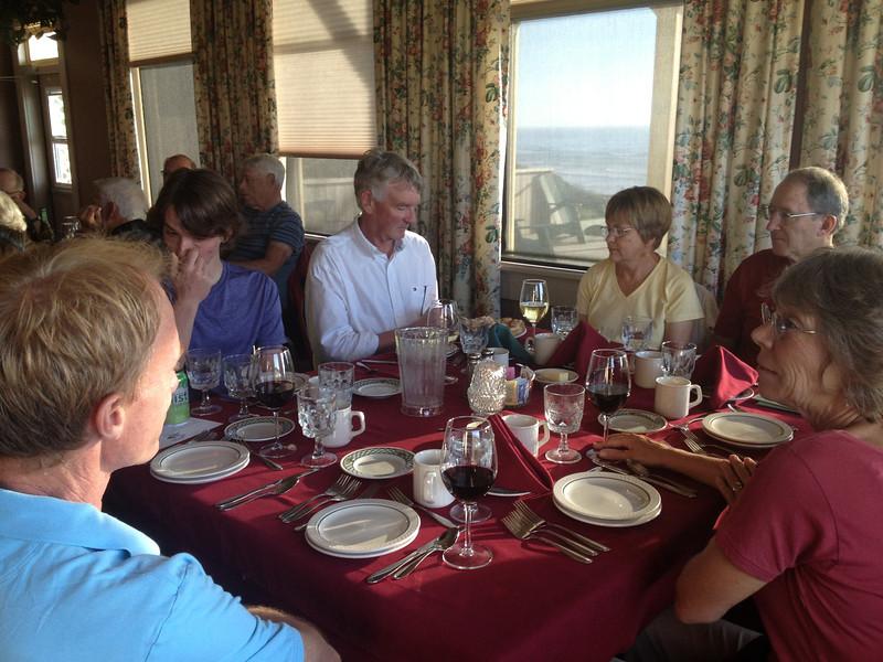 Dinner in Newport