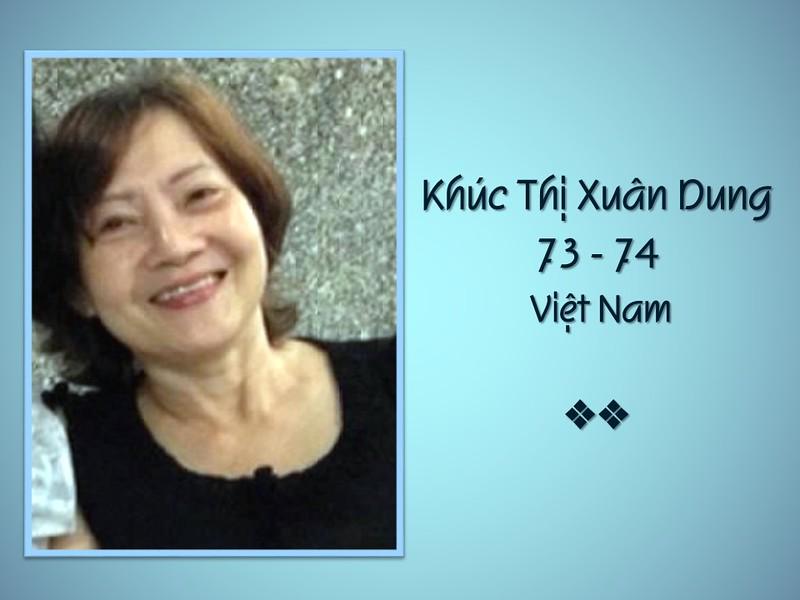 Khúc Thị Xuân Dung