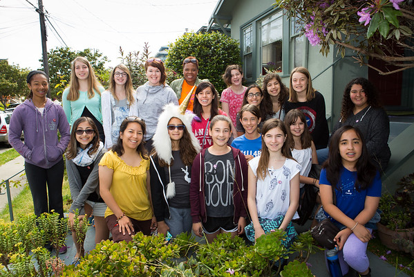Go Girls Leadership Retreat 5.1.15