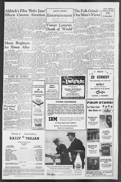 Daily Trojan, Vol. 54, No. 48, December 06, 1962