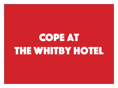 COPE at the Whitby Hotel