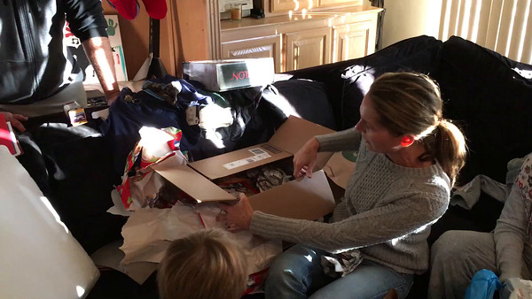 Xmas 2015 Mary Gets a Surprise Gift