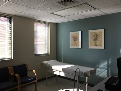 Dr. Hogan's exam rooms