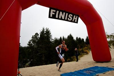 Dunes Triathlon - Finish Line - 2015