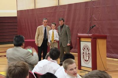 2015 Middle School Awards Ceremony