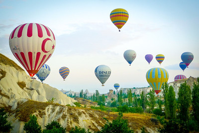 Balloon ride - Cappadochia, Turkey