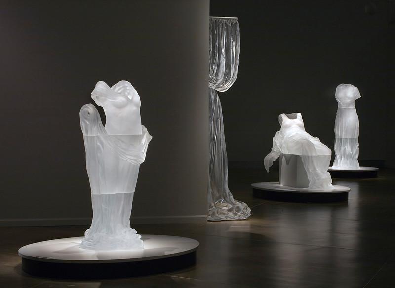 Absence Adorned | Glass Dress Sculptures