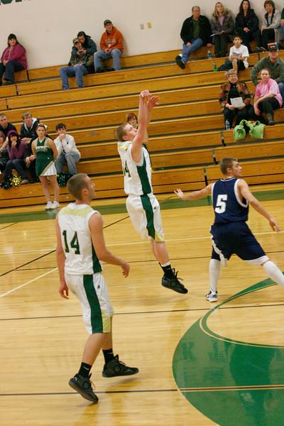 St Maries Varsity basketball vs Lake city 12-13-2010