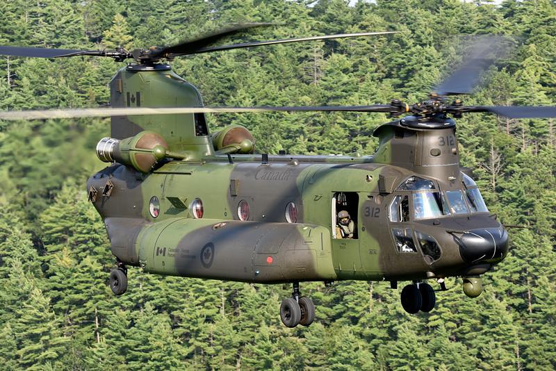 Mike Reyno, CH147F Chinook, RCAF
