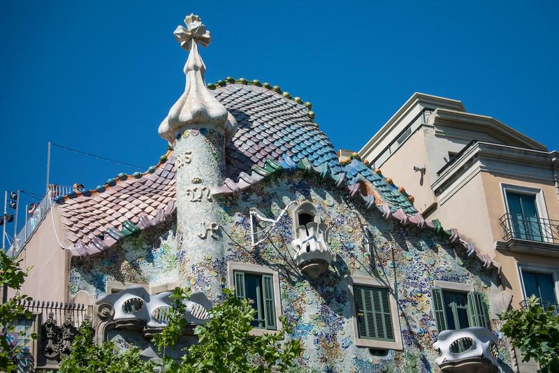More Gaudi designed architecture