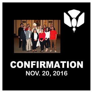 Confirmation November 2016