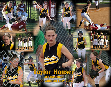 VHS softball collage