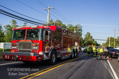 05/24/2019, MVC with Entrapment, Vineland City, W. Garden Rd. and N. Mill Rd.