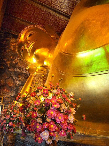 Reclining Buddha at Wat Pho in Bangkok