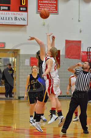 Ports. Clay @ Symmes Valley Girls 1-10-2013