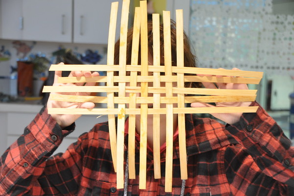 Norwood Parent Leads Basket Weaving Workshop