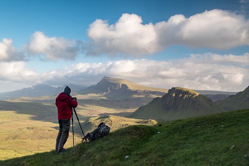 Hoch oben auf der Ysle of Skye