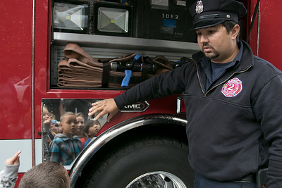 Fitchburg Fire Department visited Reingold, Oct. 8, 2019