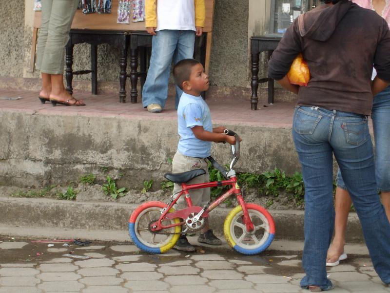Everyone rides in Jinotega