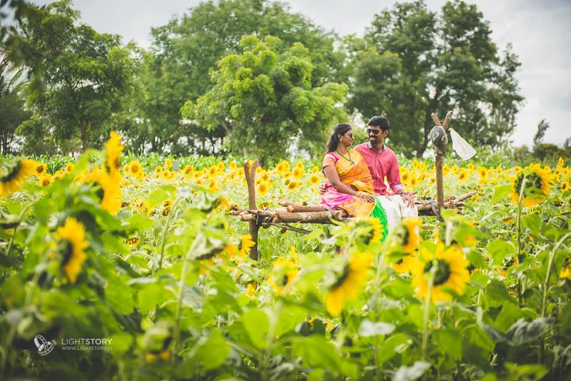 LightStory-CoupleShoot-Hassan-Bangalore-Hoysaleswara-Halebidu-Sunflowers-062.jpg