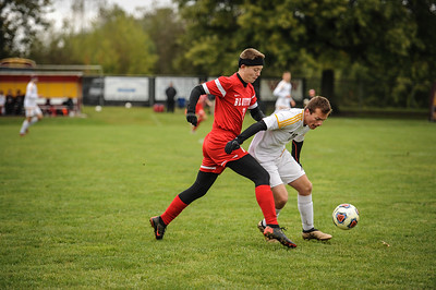 10-27-18 Bluffton HS Boys Soccer vs Kalida - District Finals
